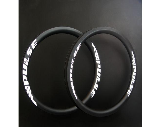 """Paires de jantes BMX carbone Pro 20"""""""