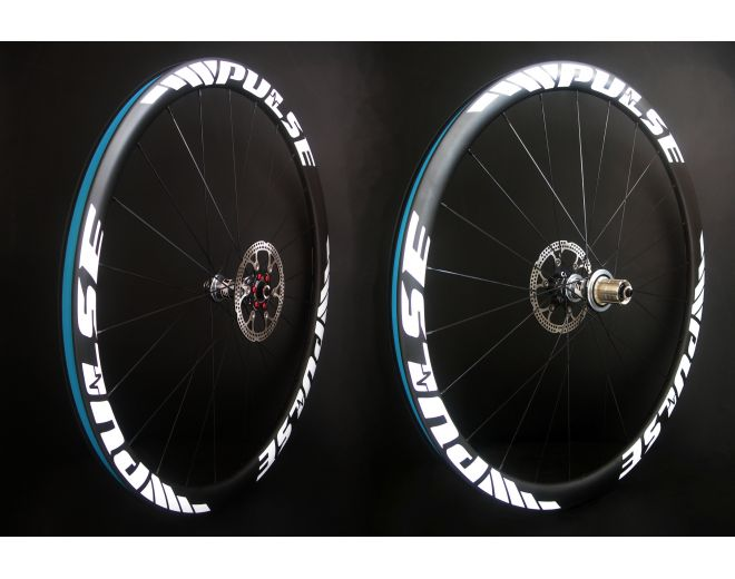 Roues carbone Pulse à Pneus 38mm Disc 2017